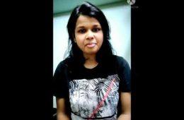 Sinchana R Nayak, VTU Rank Holder 2019
