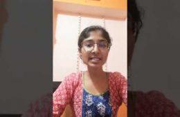 Sangeetha N B (MCA 2018-20) (VTU - 9th Rank Holder-2020)